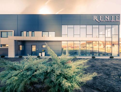Poslovni objekat – Show Room Renie, Čenej