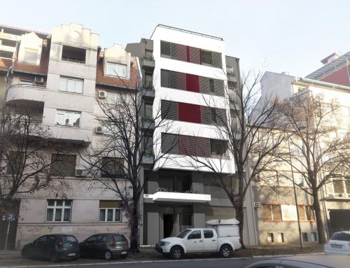 Residential Building – Maksima Gorkog 15, Novi Sad