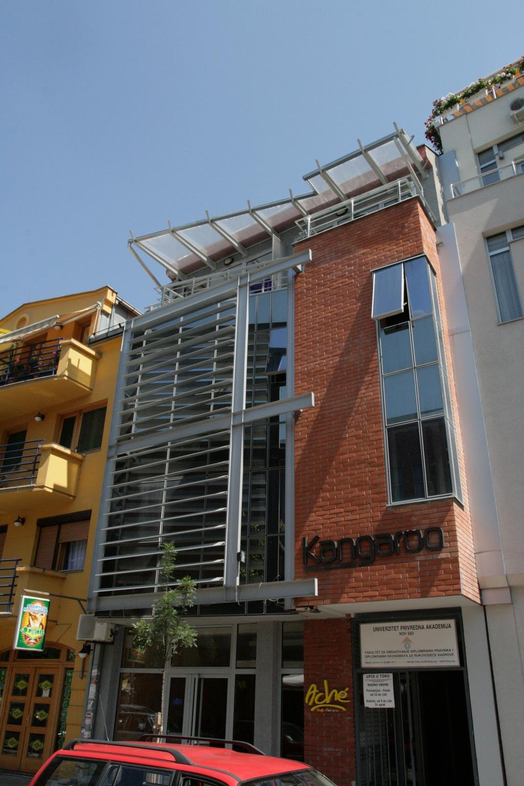 Business & Residential Building, Novi Sad, Serbia
