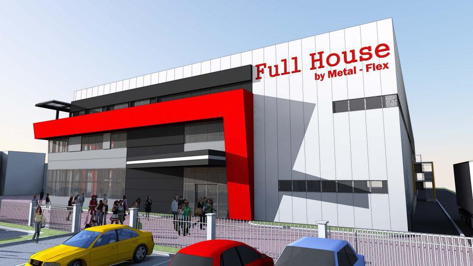 Metal Flex, Prodajni centar, Nova Pazova