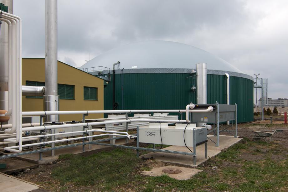 Elektrana na bio-gas, Čurug, Serbia