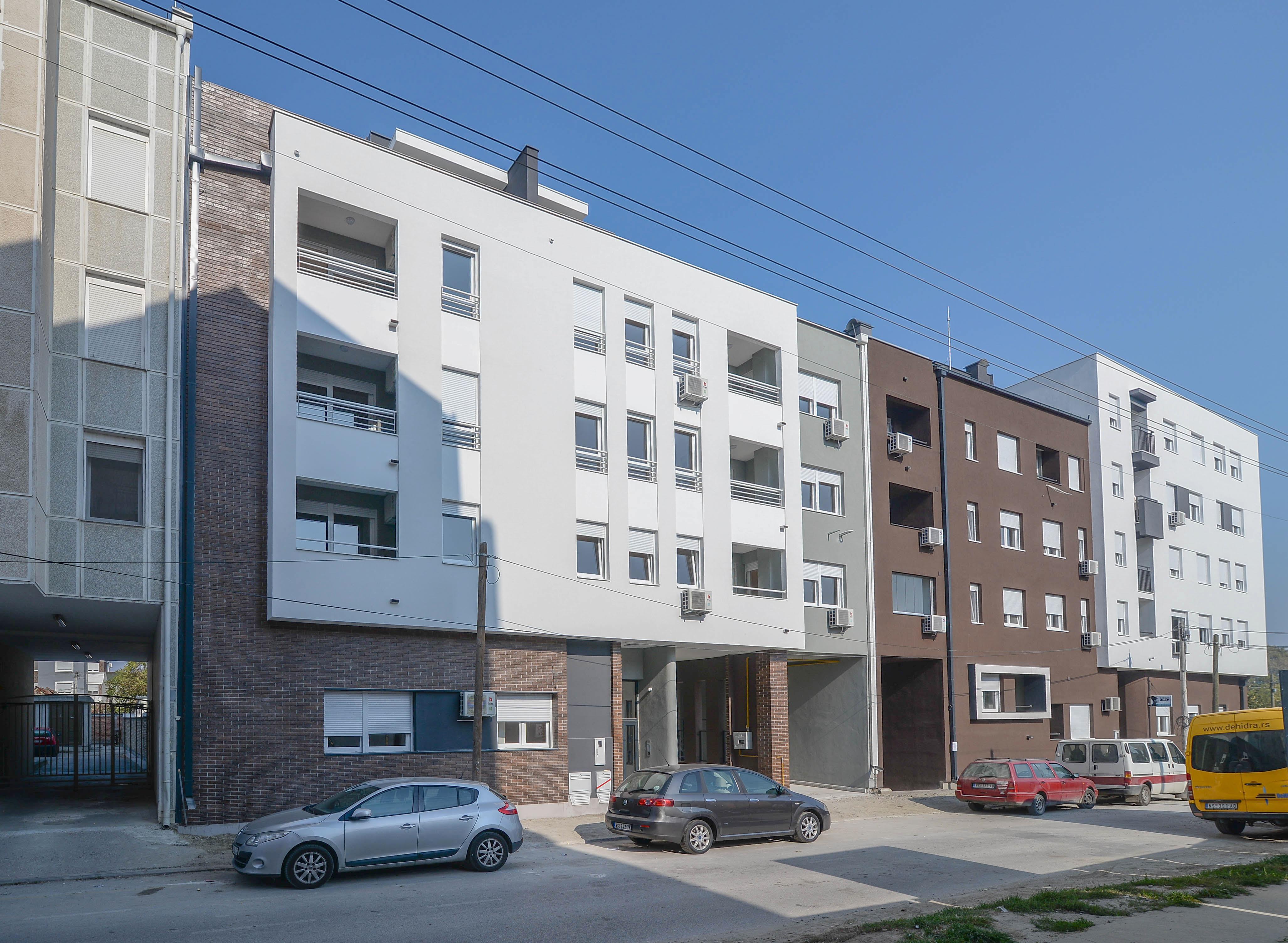 Residential building – Bele njive 33, Novi Sad